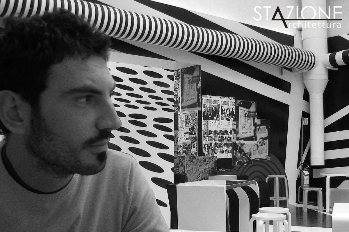 Francesco Tirotta - Architetto, co-fondatore di Stazione Architettura nel 2017